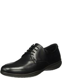 Zapatos derby negros de Ecco