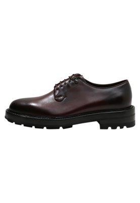 Zapatos Derby Negros de Fratelli Rossetti