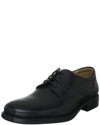 Zapatos Derby Negros de Geox Textil