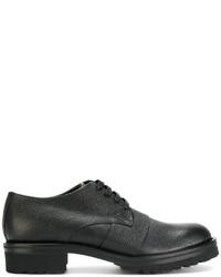 Zapatos derby negros de Marni