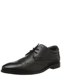 Zapatos derby negros de s.Oliver