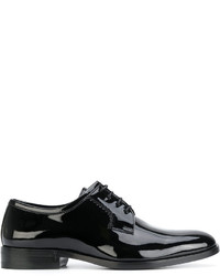 Zapatos derby negros de Saint Laurent