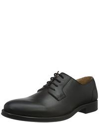 Zapatos Derby Negros de Selected