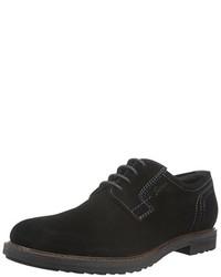 Zapatos derby negros de Sioux