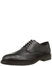 Zapatos derby negros de TBS