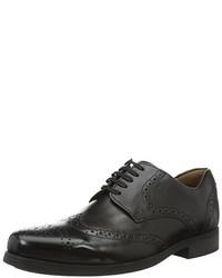 Zapatos derby negros de Weber Schuh