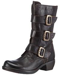 Zapatos en gris oscuro de Fly London