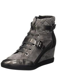 Zapatos en gris oscuro de Geox