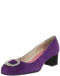Zapatos en violeta de Diavolezza