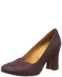 Zapatos Morado Oscuro de Chie Mihara