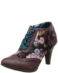 Zapatos morado oscuro de Joe Browns