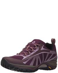 Zapatos morado oscuro de Merrell