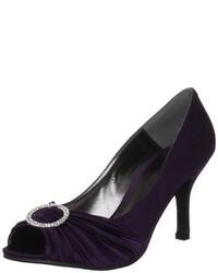 Zapatos morado oscuro de Unbekannt