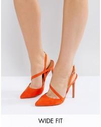 Zapatos naranjas de Asos