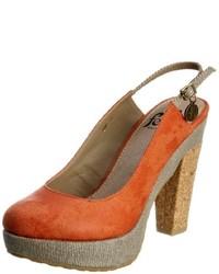 Zapatos naranjas de Feud Britannia