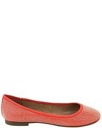 Zapatos naranjas de XTI