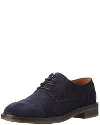 Zapatos oxford azul marino de Tommy Hilfiger