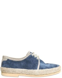 Zapatos oxford azules