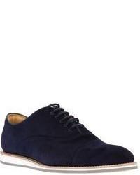 Zapatos oxford de ante azul marino de Church's