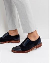 Zapatos oxford de ante azules de Ted Baker