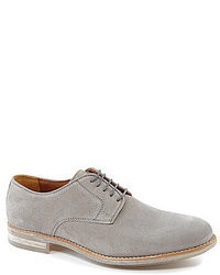 Zapatos oxford de ante grises
