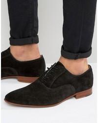 Zapatos oxford de ante negros de Aldo