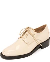 Zapatos Oxford de Cuero Marrón Claro de Rachel Comey