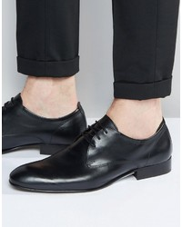 Zapatos Oxford de Cuero Negros de Base London