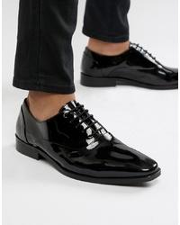Zapatos oxford de cuero negros de Dune