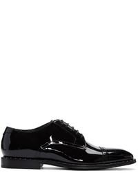 Zapatos Oxford de Cuero Negros de Jimmy Choo