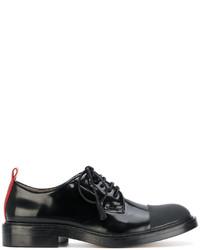 Zapatos oxford de cuero negros de Joseph