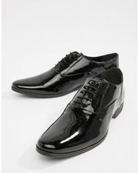 Zapatos oxford de cuero negros de Kg Kurt Geiger