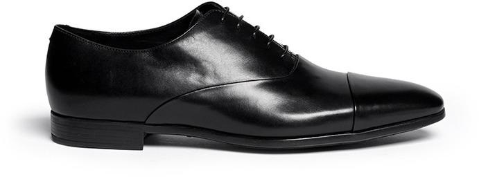 Zapatos negros Armani para hombre M5Gzp