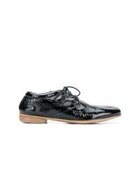 Zapatos oxford de cuero negros de Marsèll