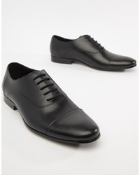 Zapatos oxford de cuero negros de Office
