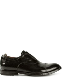Zapatos Oxford de Cuero Negros de Officine Creative