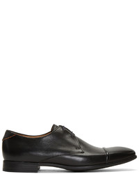 Zapatos Oxford de Cuero Negros de Paul Smith