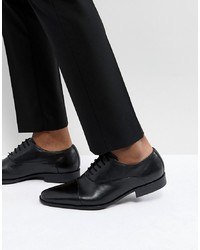 Zapatos oxford de cuero negros de Pier One