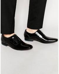 Zapatos Oxford de Cuero Negros de Ted Baker