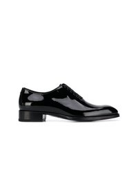 Zapatos oxford de cuero negros de Tom Ford