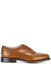 Zapatos Oxford de Cuero Tabaco de Church's