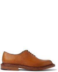 Zapatos Oxford de Cuero Tabaco de Grenson