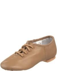 Zapatos oxford en beige