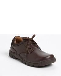 Zapatos oxford en marrón oscuro