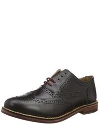 Zapatos oxford en marrón oscuro de Ben Sherman