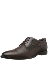 Zapatos oxford en marrón oscuro de s.Oliver