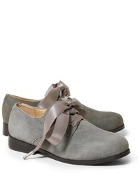 Zapatos oxford grises