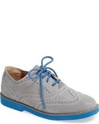 Zapatos oxford grises