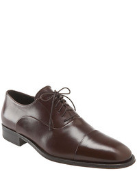 Zapatos oxford marron oscuro original 6731736