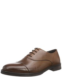 Zapatos Oxford Marrónes de Selected